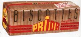 Juin16   75170     Buvard   Biscottes Prior - Biscottes