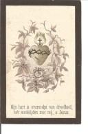 Z2. .  ZUSTER MECHTILDIS In De Wereld CLEMENTINA SCHEUNDERS  -  °MEERHOUT 1863 / + DUFFEL 1894 - Images Religieuses