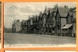CAL836, Les Sables D'Olonne , Les Villas Du Remblai, Avenue Godet, 189, Circulée 1915 Sous Enveloppe - Sables D'Olonne