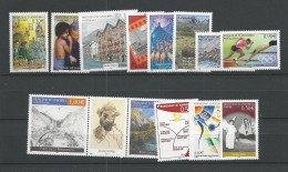 2004  MNH Andorra (French),  Year Collection Complete Postfris** - Andorra Francesa
