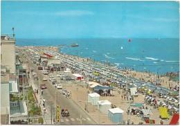 R541 Igea Marina (Rimini) - Panorama Della Spiaggia - Beach Plage Strand Playa - Auto Cars Voitures / Non Viaggiata - Italie