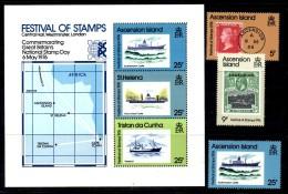 D131 - ASCENSION 1976 : B.F.  N. 9 E Serie N. 213/215  *** - Ascensione