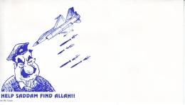 U.S. GULF  WAR  CARTOON  COVER  MINT - United States