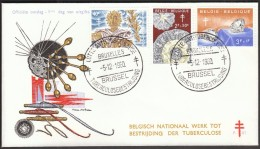 Belgium Brussel 1960 / Fight Against Tuberculosis - Disease