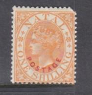 South Africa, Natal, Queen Victoria, 1888, 1/= Orange, MH *, Corner Perf Missing - Afrique Du Sud (...-1961)