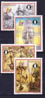 PARAGUAY POSTE AERIENNE 1989 YT N° PA 1134 à 1137 ** - Paraguay