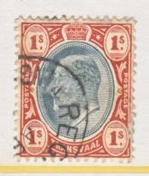 TRANSVAAL  275    (o)    Wmk. 3 - South Africa (...-1961)