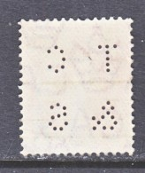 TRANSVAAL  282    (o)    Wmk. 3  PERFIN - South Africa (...-1961)