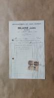 Facture Ou Lettre - Troyon  ( Meuse ) - Reparations En Tous Genres Bilaine Jules Charron - 1927 - France