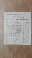 Facture Ou Lettre - Gondrecourt ( Meuse ) - Café Du Commerce - Bicyclettes Reparations Fournitures - L. Fleuret -1910 - France