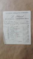 Facture Ou Lettre - Gondrecourt ( Meuse ) - Cafe Du Commerce - L. Fleuret - Bicyclettes & Reparations & Fournitures 1910 - France
