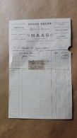 Facture Ou Lettre - Gondrecourt ( Meuse ) - Grand Bazar - Modes Et Lingerie - MAAS - 1908 - France