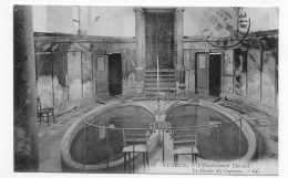 (RECTO / VERSO) LUXEUIL EN 1915 - N° 77 - ETABLISSEMENT THERMAL - PISCINE - BEAU CACHET - CPA - Luxeuil Les Bains