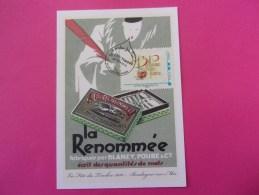 Carte Postale / MonTimbraMoi écriture La Plume La Renommée / Fête Du Timbre 2010 - Sonstige