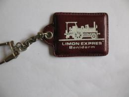 Porte Clefs Locomotive Limon Expres Benidorm - Transport Und Verkehr