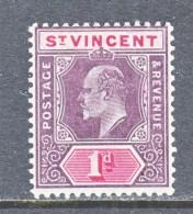 ST.  VINCENT  83    *   1904-11  ISSUE - St.Vincent (...-1979)