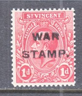 ST.  VINCENT  MR 1  TYPE  III     ** - St.Vincent (...-1979)
