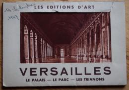 78 : Versailles - Pochette De 10 CPSM Format CPM - Le Palais - Le Parc - Les Trianons - Les Editions D'Art - Versailles (Château)