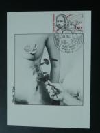 Carte Maximum Card Hommage Aux Femmes 1986 - Femmes Célèbres