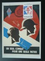 Carte Maximum Card Appel Du 18 Juin Dunkerque 1990 - De Gaulle (Général)