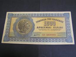 GREECE 1941 1000 Drax  ΕF. UNC.; - Greece