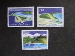 Polynésie: TB Série N° 998 Au  N° 1000, Neufs XX. - Nuovi