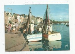 Cp , Bateaux , Pêche , 44 , LA BAULE - LE POULIGUEN , Le Port , Vierge , Ed : Yvon N° 149 - Pesca