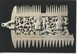 Peigne Liturgique Ivoire D´Eléphant : Liturgical Comb The British Muséum (arts Objet De Culte) - Objets D'art
