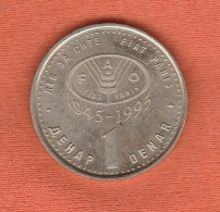Macedonia 1 Denar 1995 FAO - Macedonia