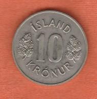 Iceland 10 Krónur 1978 - Iceland