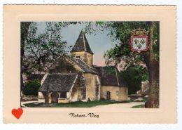 """07567-LE-36-""""LA VALLEE NOIRE """"-NOHANT-VICQ-L' Eglise De NOHANT - Autres Communes"""