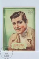 Original Old Cinema/ Movie Advertising Image - Actor: Clark Gable - Metro Goldwyn Mayer - Bioscoopreclame
