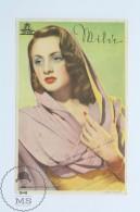 Original Old Cinema/ Movie Advertising Image - Spanish Movie: Doce Lunas De Miel, Actress: Milú - Publicidad
