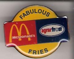 Pin McDonald´s + Agrarfrost - Fabulous Fries - McDonald's