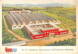 "05708 ""NOVI LIGURE (AL) - LA NOVI"" CARTOLINA COMM. INTESTATA, NON SPEDITA - Commercio"