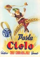 """05710 """"ROVERETO (TN) - PASTA CIELO - PASTIFICIO CIELO CORRADO & FIGLI"""" CARTOLINA COMM. INTESTATA, NON SPEDITA - Commercio"""