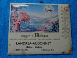 Glacoide Seul- Sans -thermometre ----engrais Reno-landrea Audonnet A Confolens Grains Engrais - Publicité