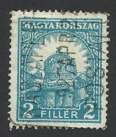 Hungary, 2 F. 1926, Sc # 404, Mi # 412B, Used. - Hungary