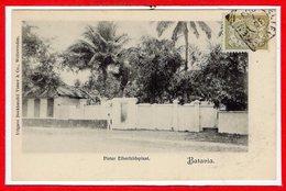 ASIE --  INDONESIE -- Batavia --  Pieter Elberfeldsplaat - Indonésie