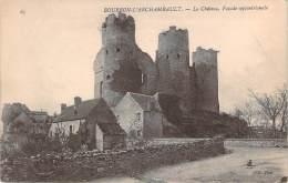 03 - Bourbon-l'Archambault - Le Château, Façade Septentrionale - Bourbon L'Archambault