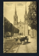 LUXEMBOURG  -  Diekirch  L'Eglise  Unused Vintage Postcard - Diekirch