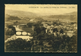 LUXEMBOURG  -  Diekirch  Les Jardines De L'Hotel Des Ardennes  Unused Vintage Postcard - Diekirch