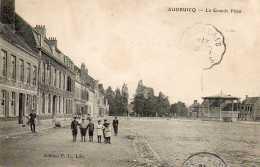 CPA - AUDRUICQ (62) - Aspect De La Grande Place Et Du Café De La Concorde En 1907 - Audruicq