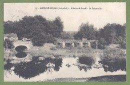 CPA - LOIRE ATLANTIQUE - GUEMENE PENFAO - L´ARCHE DE CONDE - LA PASSERELLE - Artaud Nozais / 97 - Guémené-Penfao