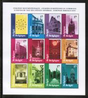 EUROPEAN IDEAS 1998 BE MI 2815-26 Zd-Bogen BELGIUM - European Ideas