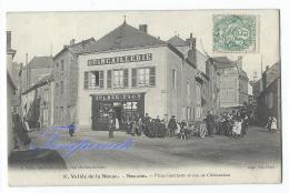 Nouzon - Place Gambetta Et Rue De Châteaudun - Autres Communes