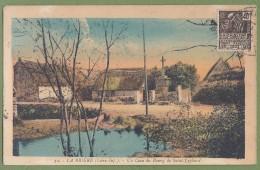 CPA - LOIRE ATLANTIQUE - LA BRIERE - UN COIN DU BOURG DE SAINT LYPHARD - J. Nozais / 12 - Saint-Lyphard