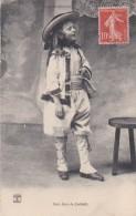 56 LORIENT  Jeune BRETON   Joli Petit Gars En COSTUME Timbre 1907 - Lorient
