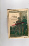 75- PARIS- PROGRAMME ACADEMIE NATIONALE MUSIQUE ET DANSE-1929-MARCOUF SAVETIER DU CAIRE-RABAUD-NESPOULOUS-LUBIN-AUDOUIN- - Programs