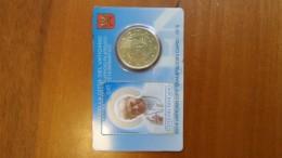 Vaticano- 2014- Francobollo E Moneta- Stamp & Coin - Vatican